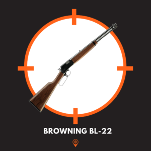 Picture of Browning BL-22 Lever Action Rifle.