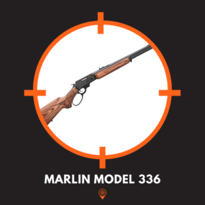 picture of Marlin Model 336 lever action rifle.