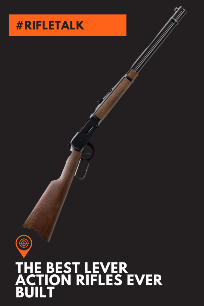 This is a picture of one of the Best Lever Action Rifles.