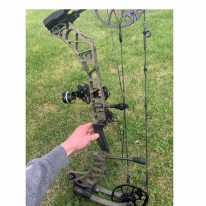 This is a picture of the full Mathews VXR 28 bow.